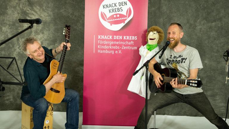 KNACK DEN KREBS-Werkstattkonzert als LIVE-STREAM