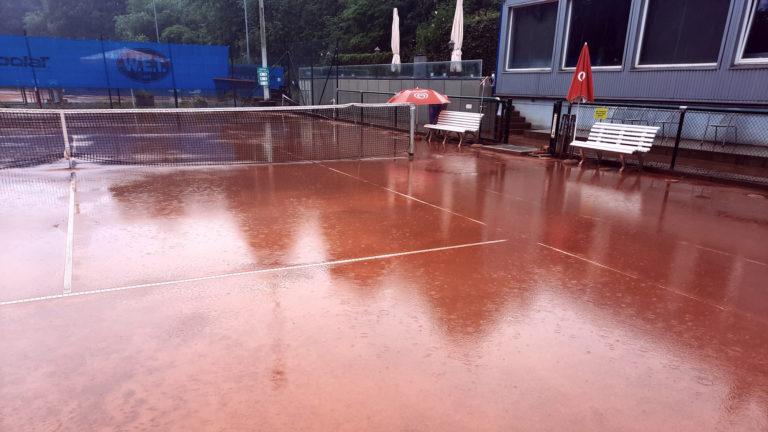 Werden saniert: Tennisplätze des Winterhude-Eppendorfer Turnvereins
